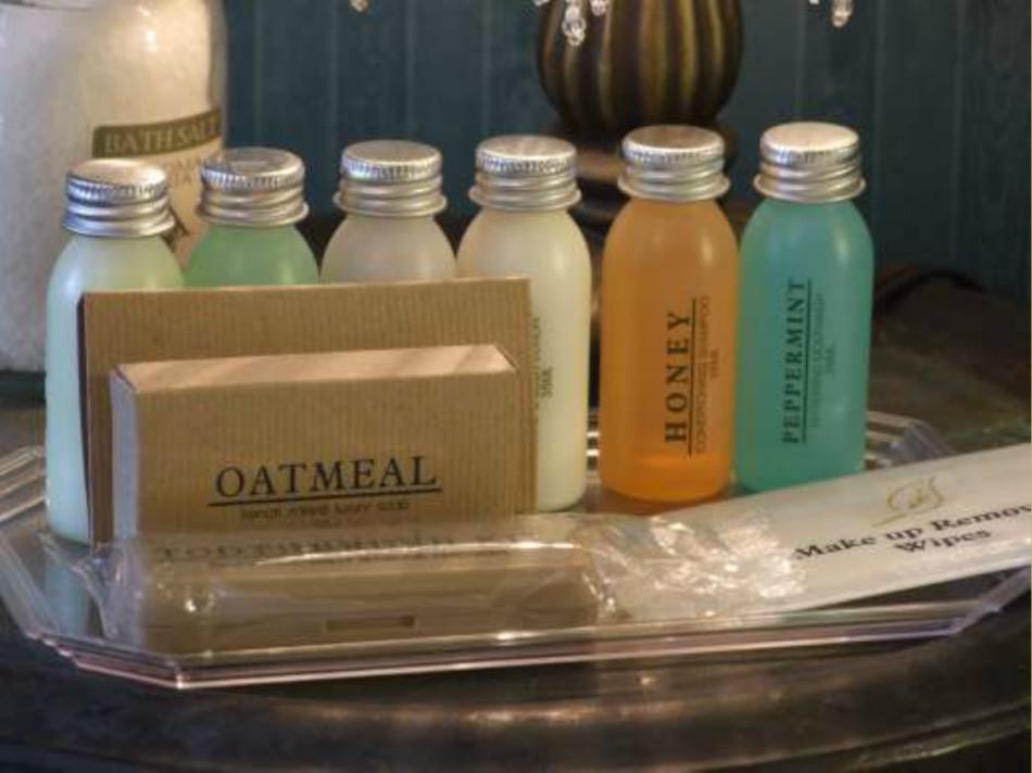 Luxury Soaps Shampoo Cobblestone Bed Breakfast