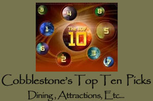 Top Attractions near the Cobblestone Bed and Breakfast